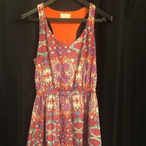 Summer Dress Multi Color Size Medium
